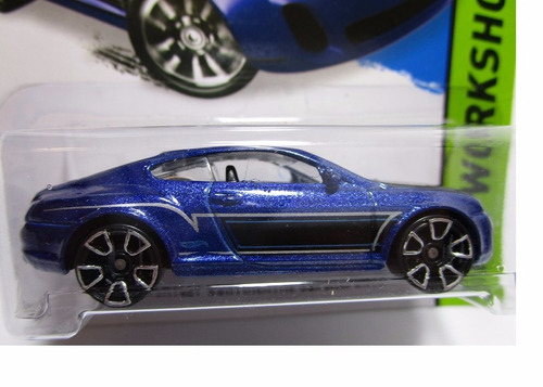 bentley continental supersports coleccion  hot wheels w9