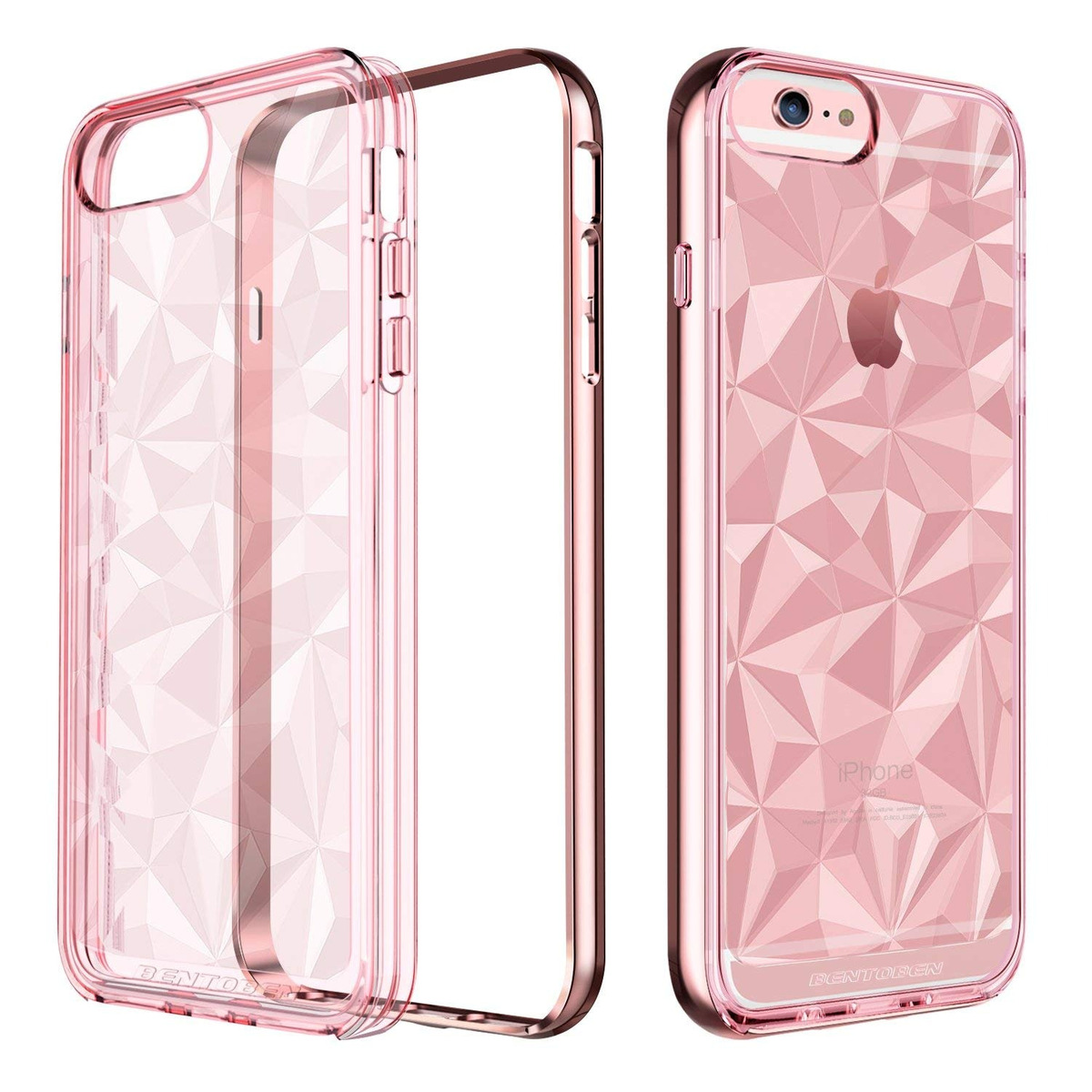 d0e38087348 Bentoben iPhone 6-plus Funda, iPhone 6s-plus Funda, Clear Sh ...