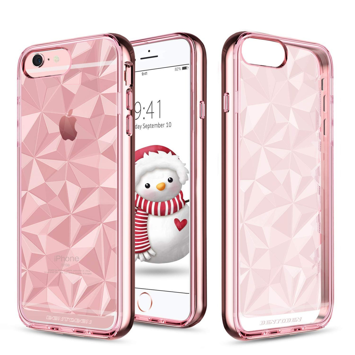 0d653d974d4 bentoben iphone 6-plus funda,diamond prism crystal clear 2 i. Cargando zoom.