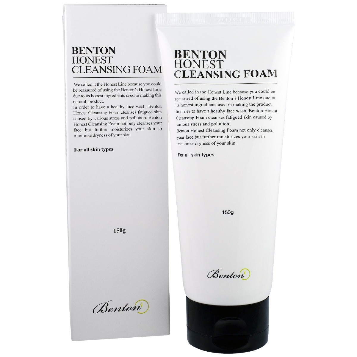 Honest Cleansing Foam 150g By BENTON iS Clinical Moisturizing Complex