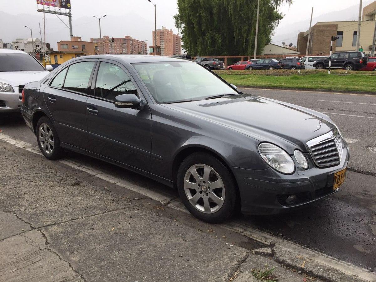 Mercedes benz clase e 200 kompressor en tucarro for 57 mercedes benz