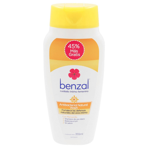 benzal wash manzanilla 240ml