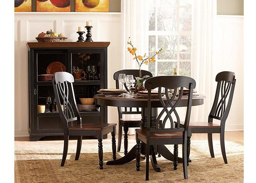 benzara bm188546 - silla auxiliar (madera, 2 unidades), c