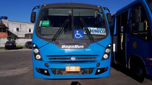 bepo buss vw9160 2015/2015 02p 23 lug 50.000km novo aurovel
