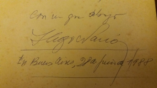 bepo vida secreta de un linyera de hugo nario (autografiado)