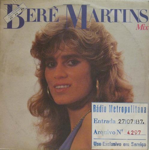 berê martins - como eu te amei lp single - continental 1987