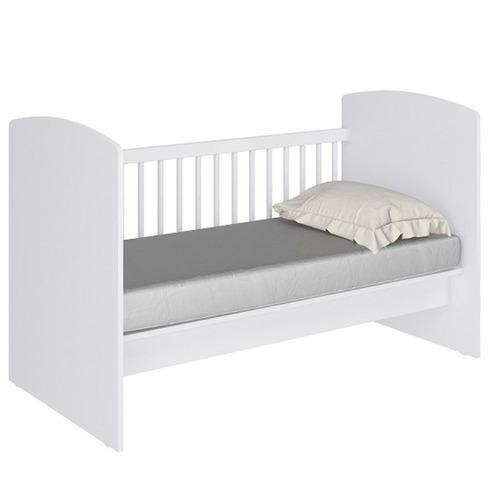 berço 4x1 vira mini cama, sofá ou escrivaninha branco