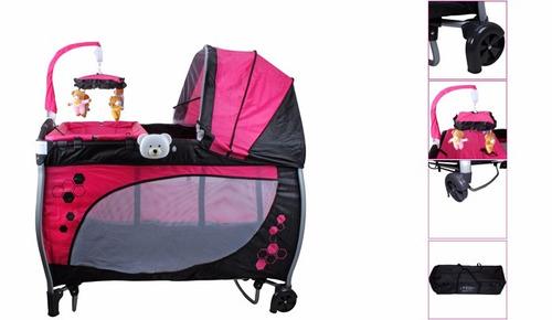 berço cercado balanço rosa  baby style !