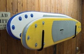 berço de parede para prancha de stand up paddle - nsi