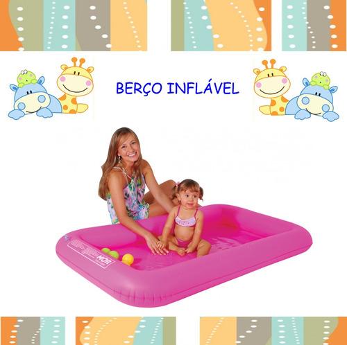 Berco inflavel piscina bebe pula andador infantil portatil for Piscina p bebe