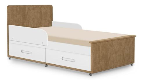 berço mini cama sofa cama dominique planet baby 2 gavetas