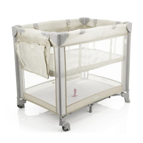 berço mini play (até 15kg) - pop beige - safety 1st