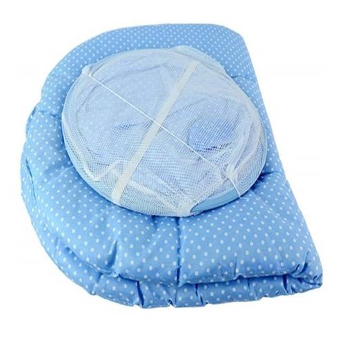 berco portatil mosquiteiro infantil cercadinho c travesseiro
