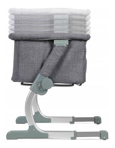 berço side by side grey (até 11 meses / 9kg) - safety 1st