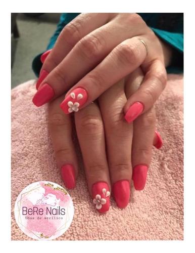 bere nails: uñas de acrilico, kapping, esm. semipermanente