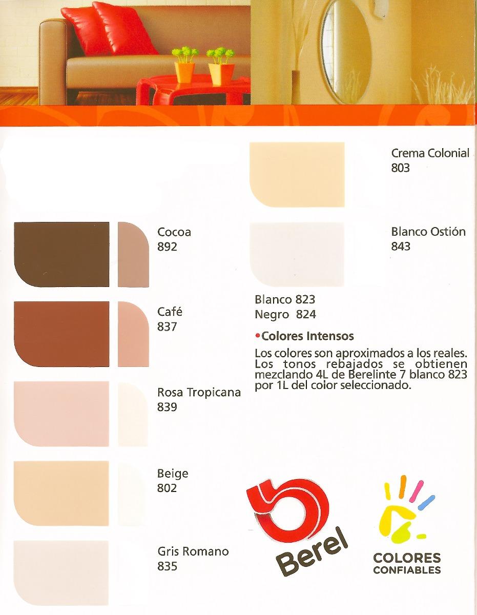 Berel berelinte 7 pintura vinilica 19lt 1 en for Pintura para interiores precios