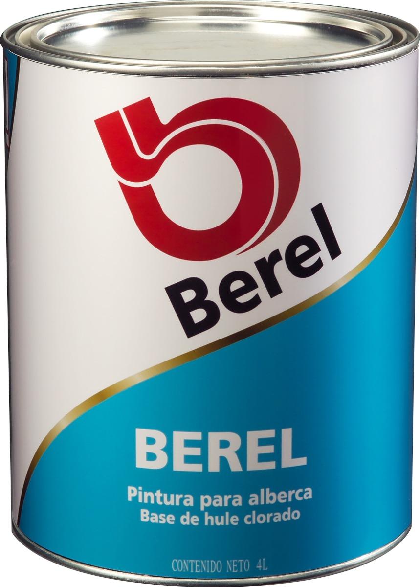 Berel pintura para alberca bote 4lt en mercado for Bote de pintura precio
