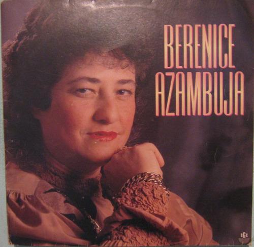 berenice azambuja - berenice azambuja - 1992 lp autografado