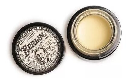 berlin balsamo para barba pomada x 34gr premium barberia