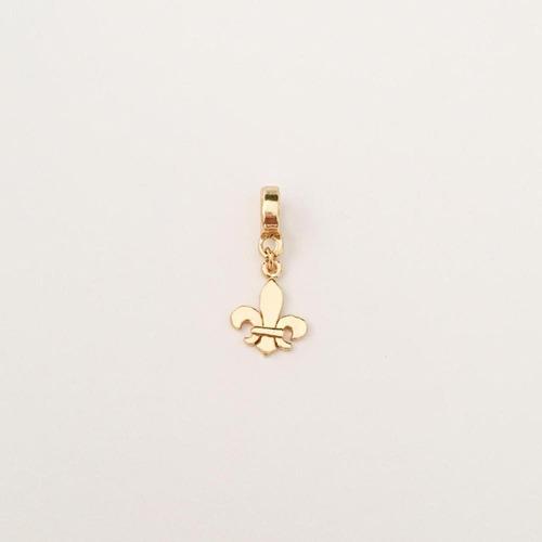 berloque flor de lis - bd_1116