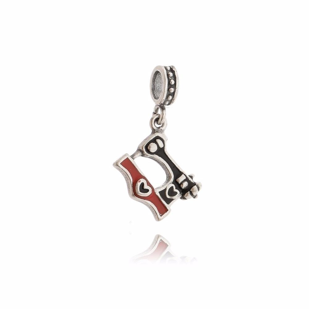 7d229474ab770 Berloque Pingente Maquina De Costura Em Prata 925 - R  28,90 em Mercado  Livre
