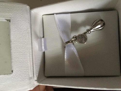 berloque vivara prata original com embalagem