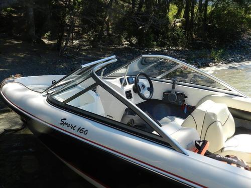 bermuda 160   c/40 hp 2 tiempos mercury 3 cilindros oferta