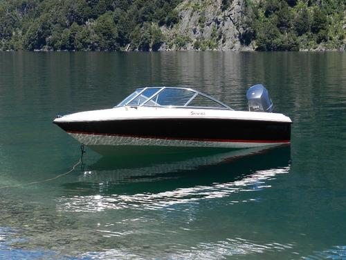 bermuda 160 con evinrude 60 hp e-tec 100% ecologico