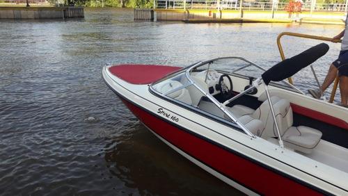 bermuda 160 con mercury 75 hp 4 tiempos okm la mejor calidad
