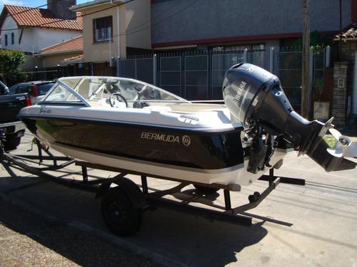 bermuda 160 con yamaha 50 hp 4 tiempos inyeccion