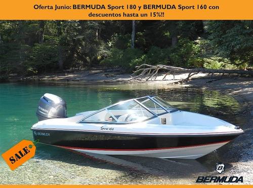 bermuda 160 con yamaha  60 hp 4 tiempos ecologico