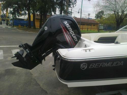 bermuda 180 con mercury 115 hp 4 tiempos nueva linea 2100 cc