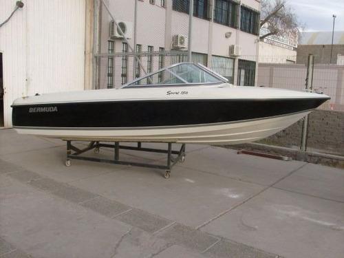 bermuda 180 con mercury 90 hp 4 tiempos nueva linea 2100 cc