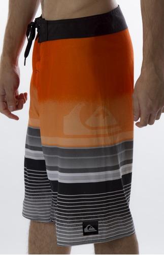 80c464339 Bermuda Água Quiksilver Everyday Stripe Logo Original - R$ 129,90 em ...