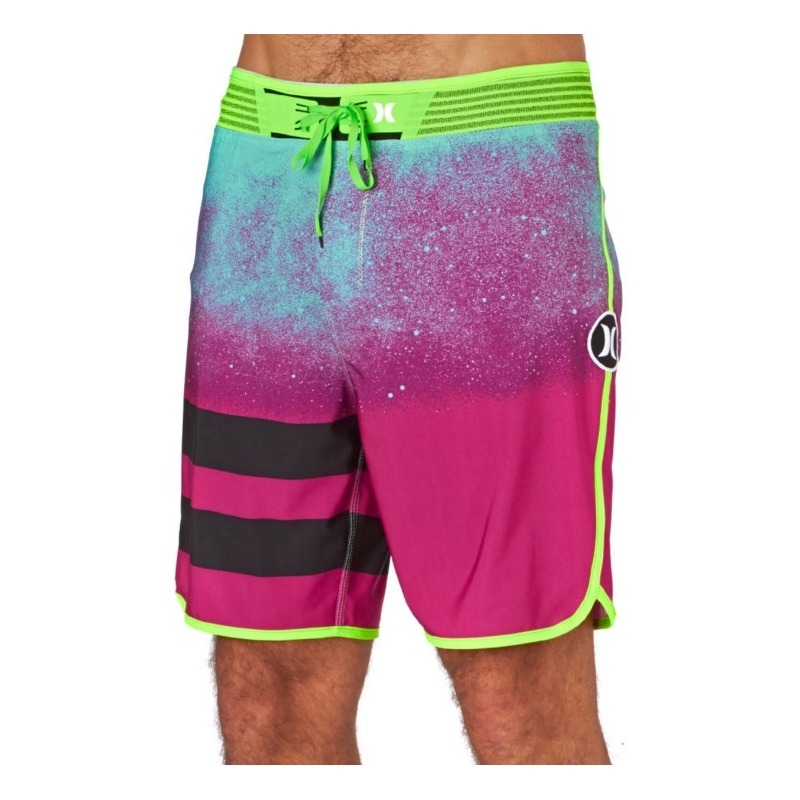 db08519b0bb69 Bermuda Boardshort Hurley Phantom Block Party Hyperweave Mul - R ...