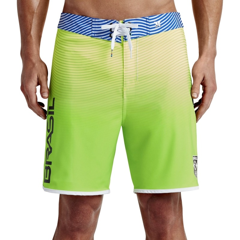 16cdfd81558cd Bermuda Boardshort Hurley Phantom Brasil Olympic Team Amarel - R ...