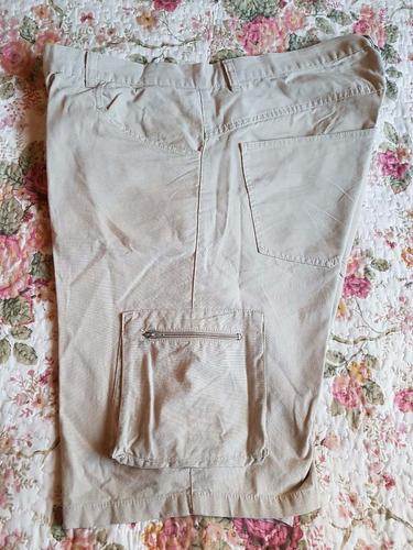 bermuda bronco hombre t:38.- 2 bolsillos laterales