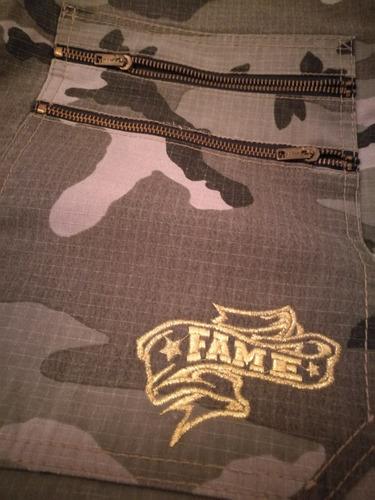 bermuda camuflada fame original