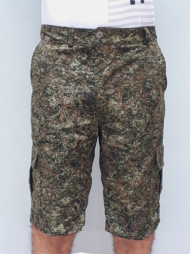 bermuda camuflada | tela rip stop | $44.900
