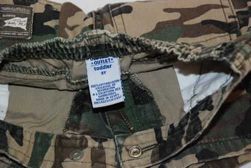 bermuda cargo camufladas de old navy