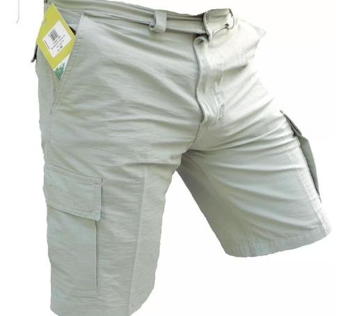 bermuda cargo hombre explora nihuil 6 bolsillos sec/ rápido