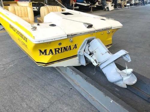 bermuda caribean motor falcon pata volvo 270 buen estado