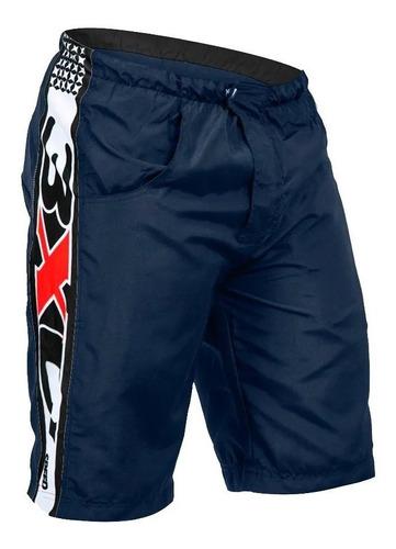 bermuda ciclismo masculina refactor freerider 3xu com bolsos