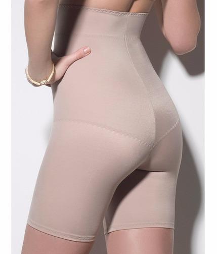 bermuda cinta modeladora slim longa s costura shapewear 2218