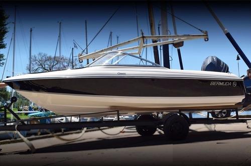 bermuda classic 175 con evinrude e- tec 130 hp  okm