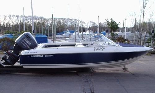 bermuda classic 175 con new mercury 115 hp 4 tiempos okm