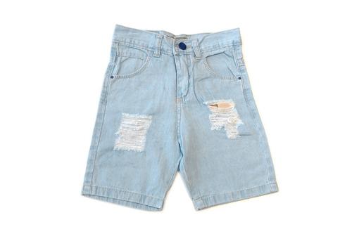 bermuda de jean para niño -milan2-