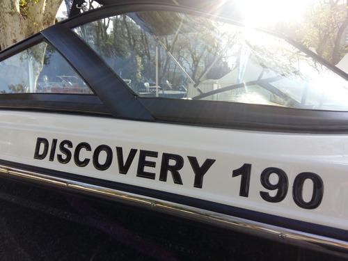bermuda discovery 190 c/evinrude e-tec 150 g2 dolar oficial