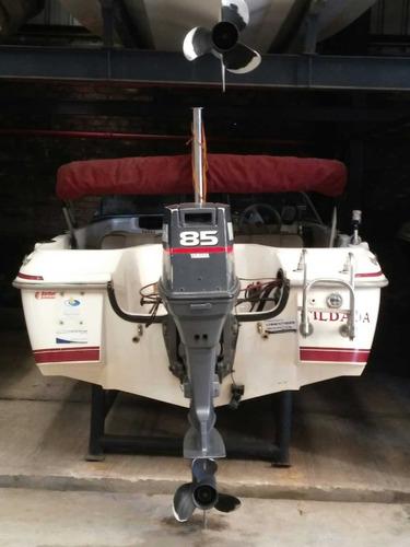 bermuda elynx con yamaha 85 hp 2t año 2000.