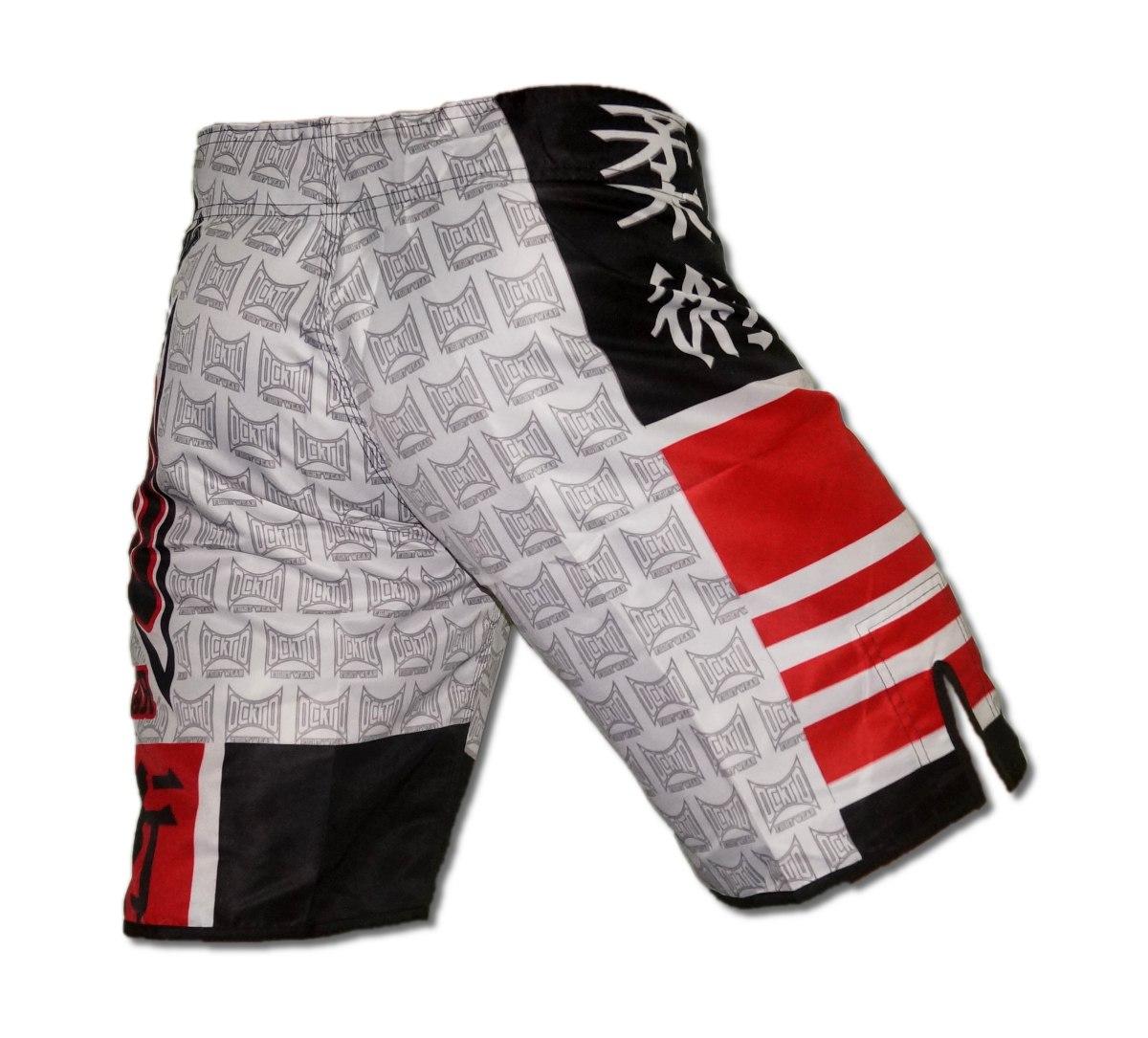 Bermuda Esportiva Mma Ufc Jiujitsu Judo Treino Faixa Preta - R  39 ... 8a1b9eda9aa70